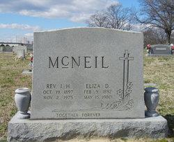 Rev Irven Hubert McNeil