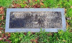 Dorothea <I>Washburne</I> Stegeman