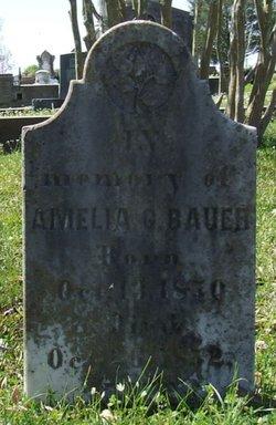 Amelia G. Bauer