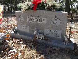 Sgt Joe Don Gregory