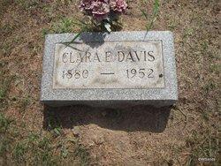 Clara E <I>Whitney</I> Davis