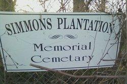 Simmons Plantation Memorial Cemetery
