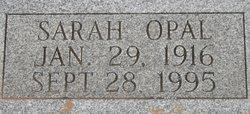 Sarah Opal <I>Huneycutt</I> Klepper