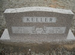 Willie Ella <I>Acre</I> Keller