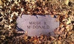 Maude I <I>Boatwright</I> McDonald