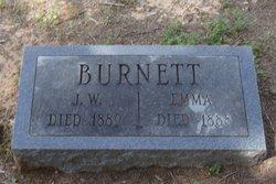 "Emmaline Alexander ""Emma"" <I>White</I> Burnett"