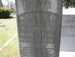 Miriam <I>Wiley</I> Murphy