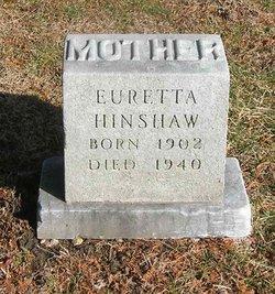 Euretta Amarilla <I>Sleezer</I> Hinshaw