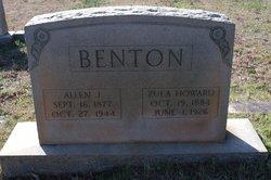 Allen Johnson Benton