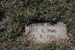 Bartley H Benton