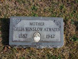Celia M <I>Winslow</I> Atwater