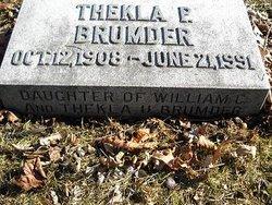 Thekla Pauline  Henriette Brumder