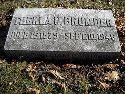 Thekla <I>Uihlein</I> Brumder