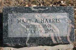 Mary Alice <I>Snyder</I> Harris