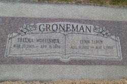 GRONEMAN, Lynn LeRoy