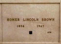 "Homer Lincoln ""Ato"" Brown"