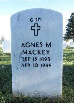 Agnes M Mackey