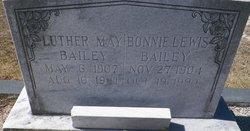 Bonnie <I>Lewis</I> Bailey