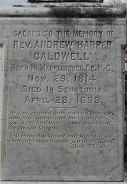 Rev Andrew Harper Caldwell