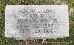 Aldena Judson <I>Love</I> Benton