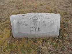 Mae Odessa <I>Hill</I> Dye