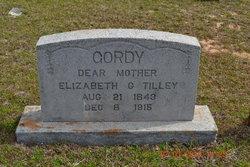 Elizabeth <I>Gordey</I> Tilley