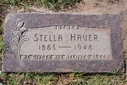 Stella <I>Johnston</I> Haver