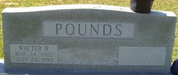 """Walter R """"Shorty"""" Pounds"""