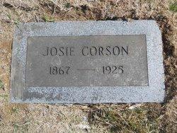 """Josephine B. """"Josie"""" Corson"""