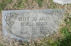 Betty Jo Ables