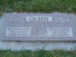 Grace Sarah <I>Yancey</I> Olsen