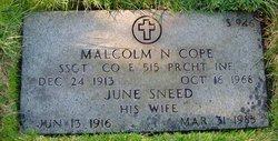 Malcolm Norwood Cope