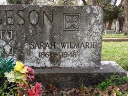 """Sarah Wilmarie """"Sallie"""" <I>Holder</I> Fergeson"""
