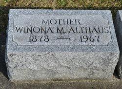 Winona Mable <I>Duffman</I> Althaus