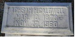 Achsah H. Caldwell