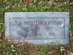 Mary Lola <I>Huselton</I> Crosson