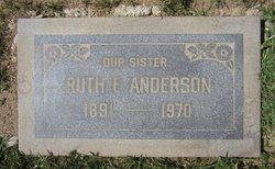 Ruth E <I>Seely</I> Anderson