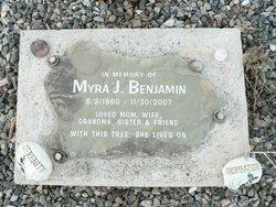 Myra J Benjamin