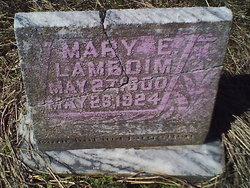Mary Elizabeth <I>Wedding</I> Lambdim