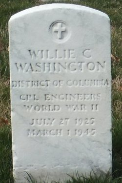 CPL Willie C Washington