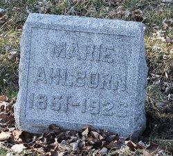 Marie Ahlborn