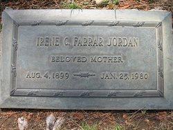 Irene Charlotte <I>Farrar</I> Jordan