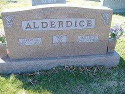 Marvin D Alderdice