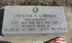 Pvt Chester L. Cheney