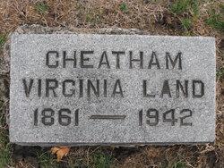 Virginia <I>Land</I> Cheatham