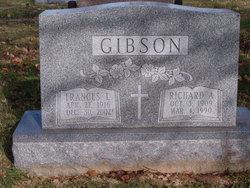 Frances L. <I>McCammon</I> Gibson