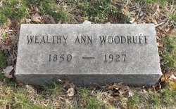 Wealthy Ann <I>Angus</I> Woodruff