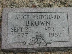 Alice Pritchard Brown