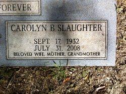 Carolyn B Slaughter