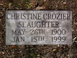 Christine Crozier Slaughter